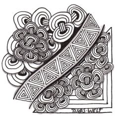 Zentangle für DivasChallenge178