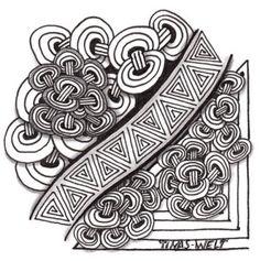 Zentangle für DivasChallenge178