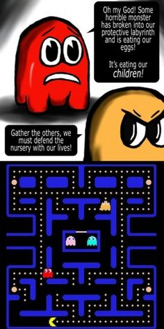 The real pacman story