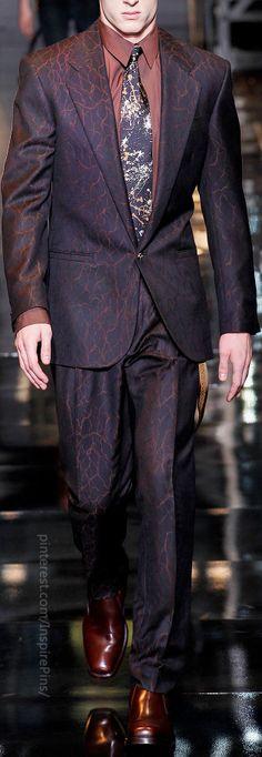 Fall 2014 Menswear Versace