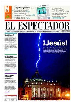Una de las mejores publicaciones con respecto a la partida del papa