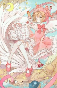 I'm excited for the new Cardcaptor Sakura Anime in 2018 ^^