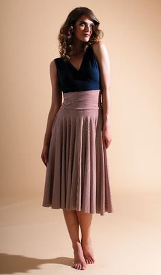 LIMITED EDITION  : Simple Circle Skirt : Butter By Nadia