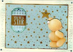 Forever Friends Classic Decadence Collection, Your a Starcard Forever Friends Cards, Animal Cards, Card Making, Bear, Classic, How To Make, Collection, Derby, Bears