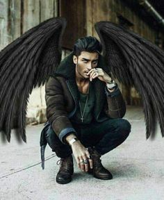 A gorgeous guys Toni Mahfud, Dark Fantasy Art, Fantasy Male, Dark Art, Dark Angels, Angels And Demons, Anime Angel, Character Inspiration, Character Art