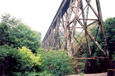 pope lick monster jeffersontown ky | Pope Lick Railroad Bridge Trestle, Louisville, Kentucky