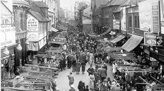 Surrey street market, Croydon, 1935