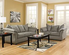 Darcy Sofa | Ashley Furniture HomeStore Living Room Paint, Living Room Sets, Living Room Decor, American Sofa, Sofa And Loveseat Set, Sofa Sleeper, Cool Couches, Comfortable Sofa, Best Sofa