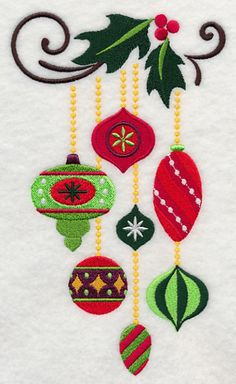 Embroidery Patterns Machine Embroidery Designs at Embroidery Library! Sewing Machine Embroidery, Learn Embroidery, Free Machine Embroidery Designs, Embroidery Applique, Embroidery Stitches, Applique Designs, Machine Applique, Embroidery Ideas, Christmas Applique