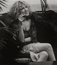 Bette Midler in the '70s.