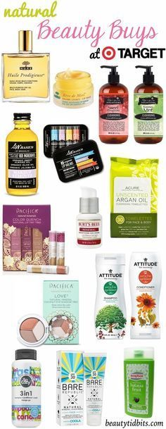 Natural Beauty Buys at Target #drugstorebeauty #beauty #drugstorefinds