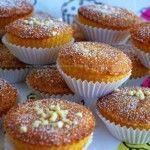 Queijada de amêndoa Muffin, Breakfast, Quick Dessert, Puddings, Carrot, Cake Receipe, Top Recipes, Wafer Cookies, Sweet Recipes