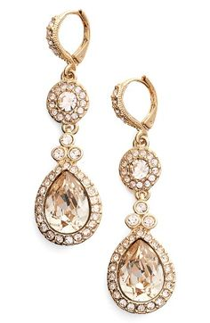 Free shipping and returns on Givenchy Wingate Drop Earrings at Nordstrom.com. Faceted crystals shimmer and shine in these glamorous drop earrings perfect for finishing your special-occasion look.