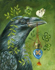 Janie Olsen | ACRYLIC | Luck Potion
