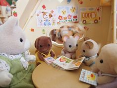 Sylvavian Families - Nursery class. Sylvania Families, Sweet Little Things, Daughter Of God, Doll Houses, Miniatures, Teddy Bear, Nursery, Babies, Dolls