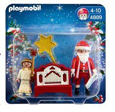 Playmobil 626577 - Navidad Ángel+Papá Noel+Órgano: Amazon.es: Juguetes y juegos