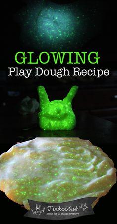 Play Doh that glows