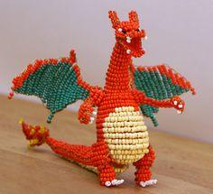 charizard pokemon beads