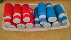 fofy: Mes bouteilles baryques ou bariques remplies avec sable, à apparier par masse