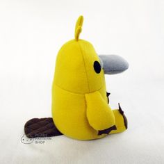 (9) Name: 'Sewing : Platypus Plush Toy Pattern and Tutorial