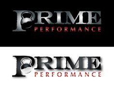 Can you design your best fitness logo for Prime Performance by SpoiledWine