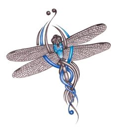 Celtic Dragonfly Tattoo Amazing