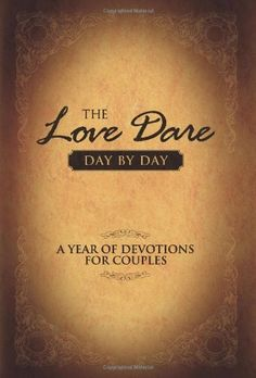 The Love Dare Day by Day: A Year of Devotions for Couples by Stephen Kendrick, http://www.amazon.com/dp/1433668238/ref=cm_sw_r_pi_dp_1cScqb0MC3GN3  Price: $10.70