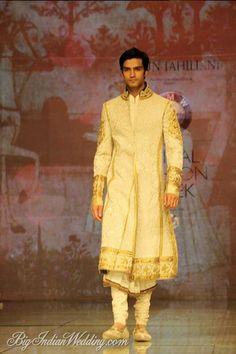 Tarun Tahliani elegant groom's sherwani