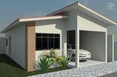 plantas de casas com tres quartos 3d - Pesquisa Google
