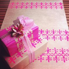 #giftwrap #wrappingpaper #gift #present  GIFT WRAP.  Compliment Wrap by aTISHdesign on Etsy, $13.00 US