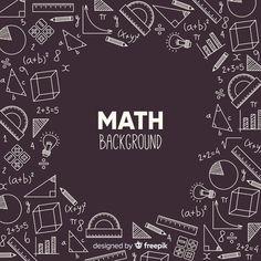 Realistic math chalkboard background Free Vector   Free Vector #Freepik #vector #freebackground #freeschool #freestudent #freeblackboard