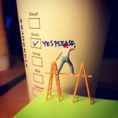 Marsder - 是的,我需要來杯提神的 CAFE ~