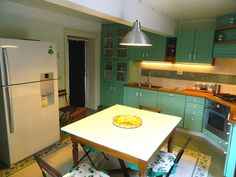 Practical and equipped kitchen