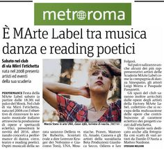 #MarteLabel Fest su Metro Roma
