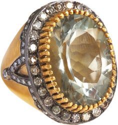 ShopStyle: Sara Weinstock Amethyst & Diamond Ring