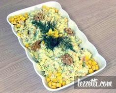 Lahana Salatası Tarifi (adım adım fotoğraflı) - lezzetli.comlezzetli.com Appetizer Salads, Appetizers, Turkish Salad, No Gluten Diet, Turkish Recipes, Ethnic Recipes, Arabic Food, Food Presentation, Salad Recipes
