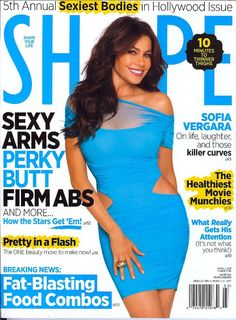 SHAPE Magazine (this was my articles cover)