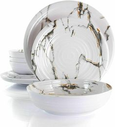 Melamine Dinnerware Sets, Tableware, Plates, Sculpture, Country, Store, Ebay, Licence Plates, Dinnerware