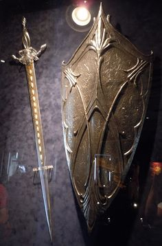 Word of God- sharper than any two-edged sword. The shield of faith, able to quench all the fiery darts of the enemy.
