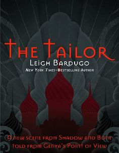The Tailor is a fantastic short story, by Leigh Bardugo . It is a story told from Genya's point of view, the only Grisha with her parti. Love Book, Book 1, Good Books, Books To Read, Ya Books, Best Quotes From Books, The Darkling, The Grisha Trilogy, Leigh Bardugo