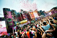 Later when I grow up I dream to organize events like Tomorrowland