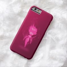 Fairy Realm Pink Pixie Airbrush Art iPhone 6, Barely There Case by BOLO Designs.