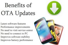 Some Benefits of OTA Software updates- Latest software features Performance improvements No need to visit service center No need to connect to PC Improves software stability Improves battery performance