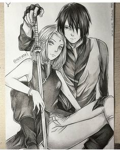 I love your art sooo much @arteyata ❤❤ #Q: sakura or sasuke? ♡ Follow and spam my sissy @anime_senpais