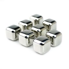Idlumina Stainless Steel Whisky Ice Stones Drinks Cooler Cubes Beer Rocks Drink Cooling Ice Melts Bar Coolers Pack of 1 -- Check out this great product.