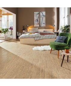Tolles Raumklima mit #Kork - #Korkboden für nur 47,90€/m² → Haro Corkett Korkboden | Arcos - antikweiß - Kork