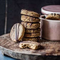 Oat + wholemeal biscuits by @lumadeline (Madeline Lu) on Instagram