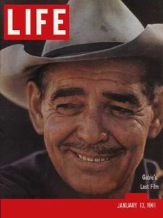 Clark Gable - Life Magazine [United States] (13 January 1961)