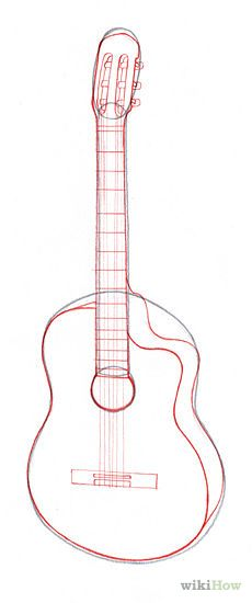 how to draw a guitar - Google Search