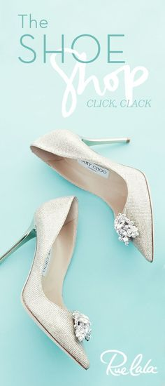 "Say ""I do"" to Jimmy Choo. Rue La La has your exclusive access to the wedding shoes you adore. Sign up for free and start shopping."